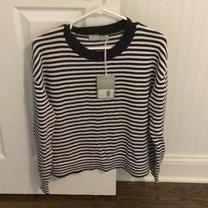 Everlane Striped cotton sweater